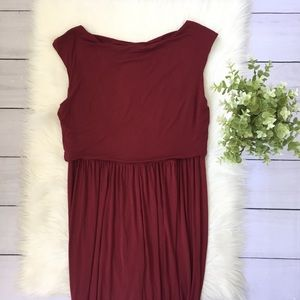 Free People Dresses - NWT Free People Beach Red Front Midi Dress #772